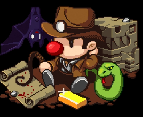 The main character of Spelunky
