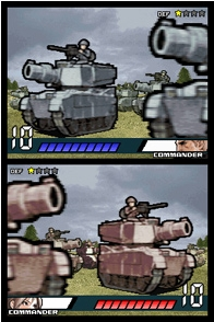 Tanks duke it out in Advance Wars: Days of Ruin