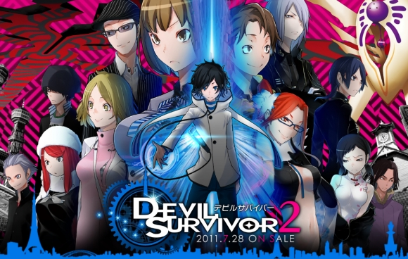 The characters of Devil Survivor 2