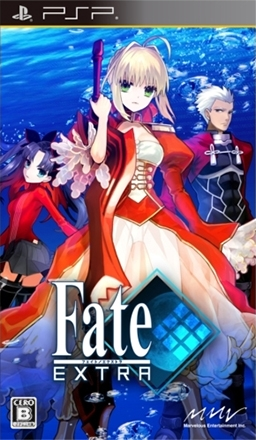 Fate/Extra from Imageepoch, Type-Moon, and Aksys Games