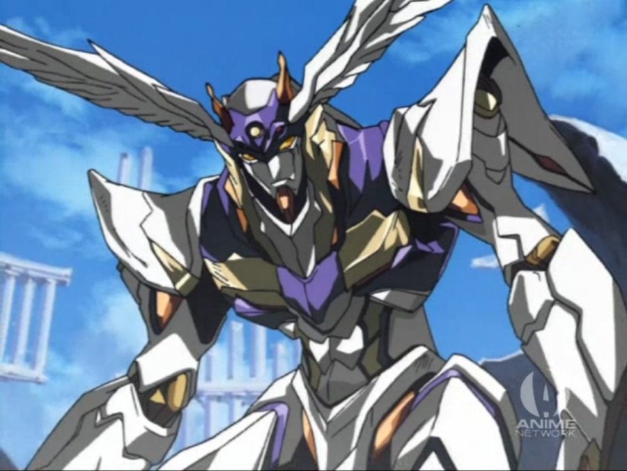 The RahXephon, Ayato's winged robot