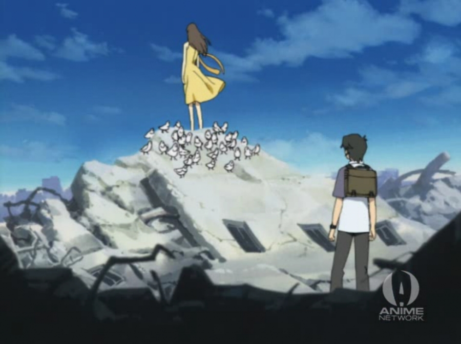 This scene is a recurring visual motif in the show