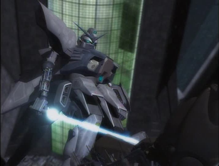 The titular robot from G-Saviour. It looks like a Gundam but in bad CGI.