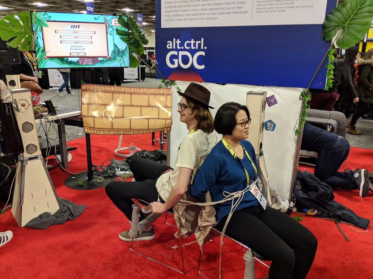 Escaping from Chairs and Shredding Books – The Games of GDC