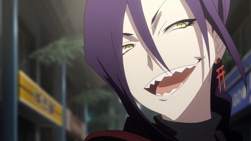 Magane smiling