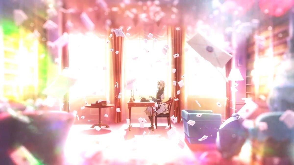 impressions  violet evergarden episode 1  u2013 kyoto animation u0026 39 s visually stunning new series falls