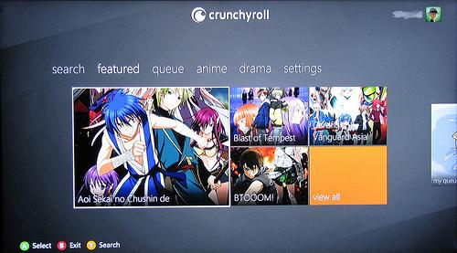 Review Crunchyroll Xbox 360 App Ani Gamers